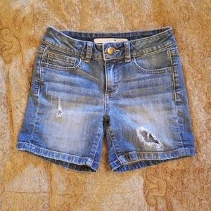 Little girls Joe's jean shorts, size 8